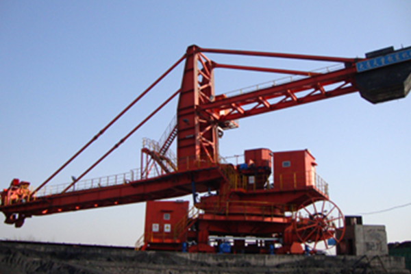 Bucket wheel reclaimer of Henan Shenhuo Group